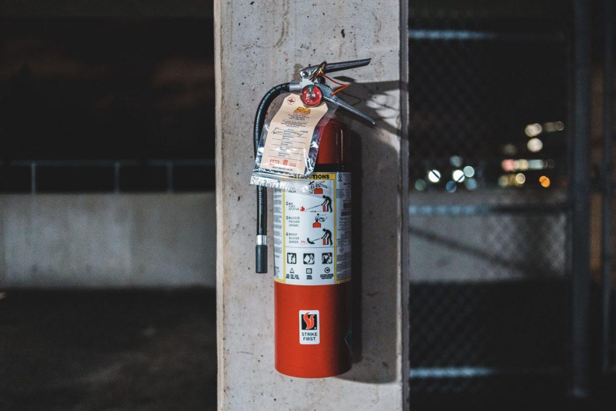 extinquisher for fire warden training